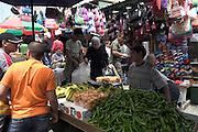 Israel, old city of Jerusalem, The street market in the narrow alleys