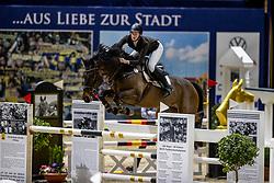 BLAU Clara (GER), Paul<br /> Grand Prix von Volkswagen<br /> Int. jumping competition over two rounds (1.55 m) - CSI3*<br /> Comp. counts for the LONGINES Rankings<br /> Braunschweig - Classico 2020<br /> 08. März 2020<br /> © www.sportfotos-lafrentz.de/Stefan Lafrentz