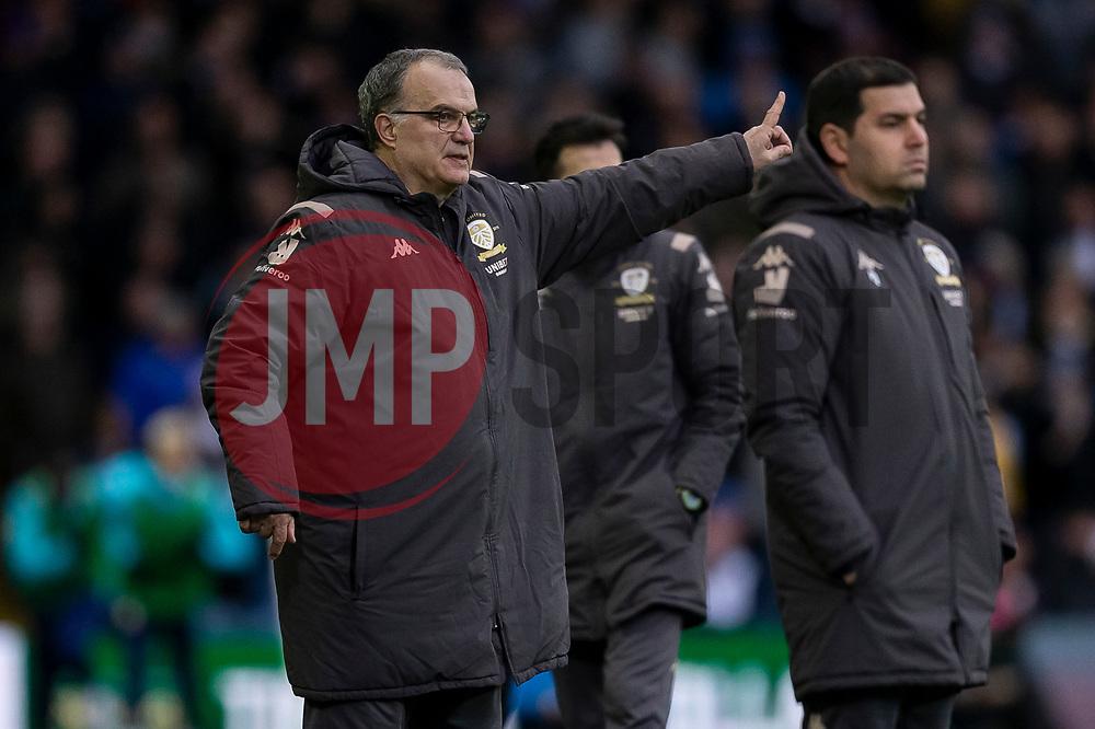 Leeds United Manager Marcelo Bielsa - Mandatory by-line: Daniel Chesterton/JMP - 15/02/2020 - FOOTBALL - Elland Road - Leeds, England - Leeds United v Bristol City - Sky Bet Championship