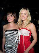 NATALIE CASSIDY AND BETH CORDINGLEY, INTO THE HOODS - a hip hop dance musical -opening  at the Novello Theatre on The Aldwych. After- party at TAMARAI at 167 Drury Lane, London. 27 March 2008.   *** Local Caption *** -DO NOT ARCHIVE-© Copyright Photograph by Dafydd Jones. 248 Clapham Rd. London SW9 0PZ. Tel 0207 820 0771. www.dafjones.com.