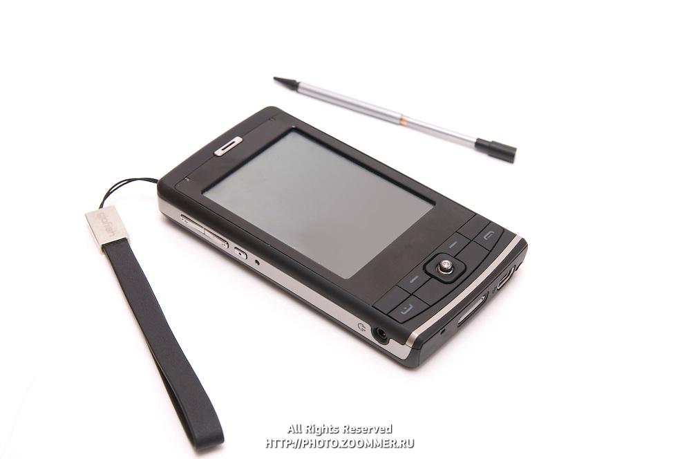 Pocket PC (pda) isolated on white background
