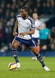Brown Ideye of West Brom in action - Photo mandatory by-line: Rogan Thomson/JMP - 07966 386802 - 11/02/2015 - SPORT - FOOTBALL - West Bromwich, England - The Hawthorns - West Bromwich Albion v Swansea City - Barclays Premier League.
