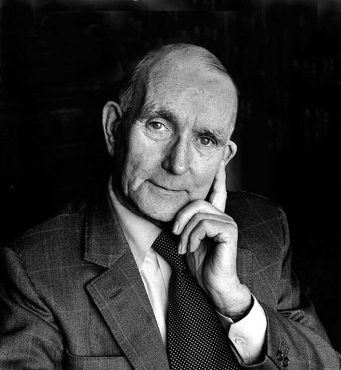 Albert Pierrepoint the last hangman in Britain. He was the official executioner for capital punishment in the UK. Photograph by Terry Fincher