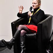 Speaker Noirin Carmody, Revolution  at London Games Festival 2019: HUB at Somerset House at Strand, London, UK. on 2nd April 2019.