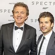 NLD/Amsterdam/20151028 - Premiere James Bondfilm Spectre, Robert ten Brink en ......