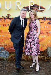 Charlie Brooker and Annabel Jones attending the global premiere of Netflix's Our Planet, held at the Natural History Museum, London.