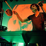 "WASHINGTON, DC - March 23rd, 2012 - Belgian-Australian multi-instrumental musician and singer-songwriter Gotye performs at the 9:30 Club in Washington, D.C. His single ""Somebody That I Used to Know""(featuring Kimbra) has reached number one in nine countries and is top 5 in the Billboard Hot 100. (Photo by Kyle Gustafson/For The Washington Post)"
