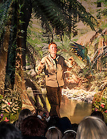 Mike Kohlrieser brings a tropical rainforest to Woodland Heights Elementary School with the Understanding Wildlife Show on Monday, February 4, 2013.