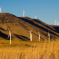 Wind Turbines | Clean Energy | Renewable Energy | Climate Change Stories | Sunset | Drew Bird Photography | San Francisco Freelance Photographer | Freelance Photojournalist | Oakland Event Photographer