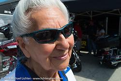 Gloria Struck at Destination Daytona during Daytona Bike Week. FL, USA. March 11, 2014.  Photography ©2014 Michael Lichter.