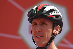 March 2, 2019 - Dubai, United Arab Emirates - Dan Martin of Ireland and UAE Team Emirates, seen at the start line of the seventh and final stage - Dubai Stage of the UAE Tour 2019, a 145km with a start from Dubai Safari Park and finish in City Walk area. .On Saturday, March 2, 2019, in Dubai Safari Park, Dubai Emirate, United Arab Emirates. (Credit Image: © Artur Widak/NurPhoto via ZUMA Press)