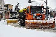 Białystok walczy ze zwałami śniegu - 3.02.2021