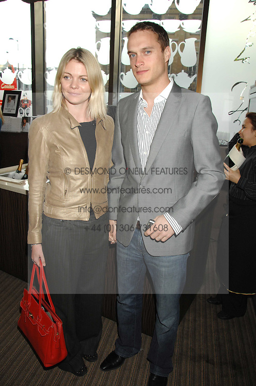 The EARL & COUNTESS OF MORNINGTON at a party to celebrate the publication of Lisa B's book 'Lifestyle Essentials' held at the Cook Book Cafe, Intercontinental Hotel, Park Lane London on 10th April 2008.<br /><br />NON EXCLUSIVE - WORLD RIGHTS