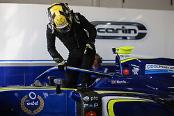 March 7, 2018 - Le Castellet, France - LANDO NORRIS of Great Britain and Carlin during the 2018 Formula 2 pre season testing at Circuit Paul Ricard in Le Castellet, France. (Credit Image: © James Gasperotti via ZUMA Wire)