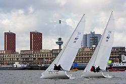 © Sander van der Borch. Rotterdam, 18 October 2008. Dutch Club championships team sailing (18 / 19 October 2008)