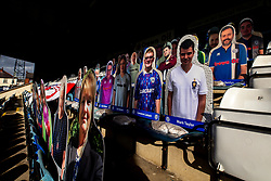 A general view of The Crown Oil Arena (Spotland), home to Rochdale with cardboard cutouts of fans in the stands - Mandatory by-line: Robbie Stephenson/JMP - 31/10/2020 - FOOTBALL - Crown Oil Arena - Rochdale, England - Rochdale v Bristol Rovers - Sky Bet League One