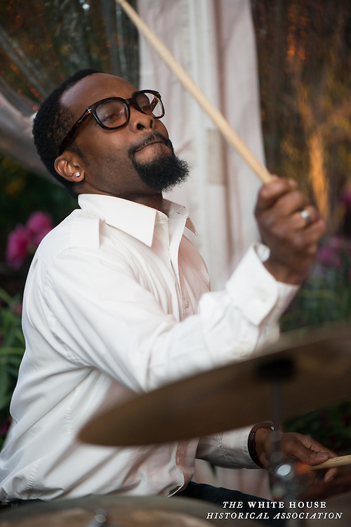 Performer at the Jazz on Jackson event at Decatur House. (Photo by Matthew Paul D'Agostino / WHHA)