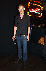 Model HENRY BARNACLE at a party to celebrate Zandra Rhodes's return to London Fashion week and the launch of a limited edition of M.A.C makeup at Silver, 17 Hanover Square, London W1 on 20th September 2006.<br /><br />NON EXCLUSIVE - WORLD RIGHTS