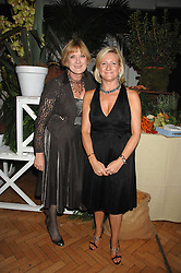 Left to right, SUE CREWE editor of House & Garden and CLAIRE GERMAN publisher of House & Garden at a party to celebrate the 60th anniversary of House & Garden magazine held at Bonhams, 101 New Bond Street, London on 4th October 2007.<br />