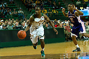 WACO, TX - DECEMBER 18: Kenny Chery #1 of the Baylor Bears drives to the basket against the Northwestern State Demons on December 18 at the Ferrell Center in Waco, Texas.  (Photo by Cooper Neill/Getty Images) *** Local Caption *** Kenny Chery