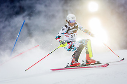 "Manuel Feller (AUT) during FIS Alpine Ski World Cup 2016/17 Men's Slalom race named ""Snow Queen Trophy 2017"", on January 5, 2017 in Course Crveni Spust at Sljeme hill, Zagreb, Croatia. Photo by Ziga Zupan / Sportida"