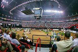 Overzicht arena<br /> World Cup Final Jumping - Las Vegas 2003<br /> © Hippo Foto - Dirk Caremans