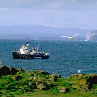 SIRIUS patrols ecologically sensitive marine areas off Scottish coast. North Sea. Accession #: 0.96.087.003.01