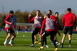 CARDIFF, WALES - Wednesday, October 7, 2020: Wales' Joe Rodon during a training session at the Vale Resort ahead of the International Friendly match against England. (Pic by David Rawcliffe/Propaganda)