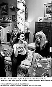 Mrs. John Heather, Miss Sophie McCormick and Jo Heyworth at a New Year's Eve Party given by Erskine & Louise Guinness. Knockmaron House. Dublin. 1 January 1988. Film. 871140/30<br /><br />© Copyright Photograph by Dafydd Jones<br />66 Stockwell Park Rd. London SW9 0DA<br />Tel 0171 733 0108