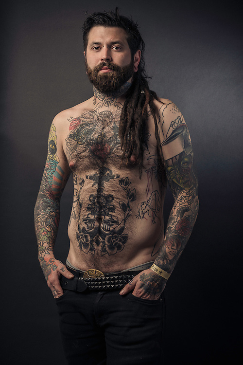 Portraits taken at the Icelandic Tattoo Expo 2013 in Reykjavik, Iceland. September 13, 2013. Copyright © 2013 Matthew Eisman. All Rights Reserved