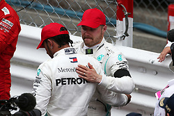 May 26, 2019 - Monte Carlo, Monaco - xa9; Photo4 / LaPresse.26/05/2019 Monte Carlo, Monaco.Sport .Grand Prix Formula One Monaco 2019.In the pic: Valtteri Bottas (FIN) Mercedes AMG F1 W10 and Lewis Hamilton (GBR) Mercedes AMG F1 W10 (Credit Image: © Photo4/Lapresse via ZUMA Press)