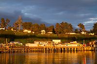 Fort Bragg, California. A small town along the north California coast.