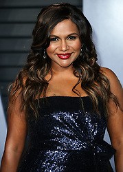 BEVERLY HILLS, LOS ANGELES, CA, USA - MARCH 04: 2018 Vanity Fair Oscar Party held at the Wallis Annenberg Center for the Performing Arts on March 4, 2018 in Beverly Hills, Los Angeles, California, United States. 04 Mar 2018 Pictured: Mindy Kaling. Photo credit: IPA/MEGA TheMegaAgency.com +1 888 505 6342