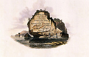 Frontispiece of Part Three From the book ' Oriental scenery: one hundred and fifty views of the architecture, antiquities and landscape scenery of Hindoostan ' by Thomas Daniell, and William Daniell, Published in London by the Authors May 1, 1813
