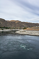 Grand Coulee Dam Panorama. Composite 7 of 7 images taken with a Nikon D700 camera and 35 mm f/1.4 mm lens (ISO 200, 18 mm, f/11, 1/1000 sec). Raw images processed with Capture One Pro and the panorama created using AutoPano Pro.