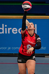 Isis Neeskens #9 of Somas Active in action in the first Topdivision match between Booleans/ VV Utrecht - SOMAS/Activia on September 19, 2020 in Utrecht.