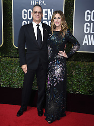 Liev Schreiber at the 75th Annual Golden Globe Awards held at the Beverly Hilton Hotel on January 7, 2018 in Beverly Hills, CA ©Tammie Arroyo-GG18/AFF-USA.com. 07 Jan 2018 Pictured: Tom Hanks, Rita Wilson. Photo credit: MEGA TheMegaAgency.com +1 888 505 6342