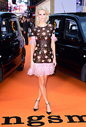 Poppy Delevingne attending the World Premiere of Kingsman: The Golden Circle, at Cineworld in Leicester Square, London. Picture Date: Monday 18 September. Photo credit should read: Ian West/PA Wire