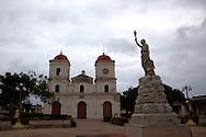 Iglesia San Fulgencio de Gibara, Gibara, Holguin, Cuba.