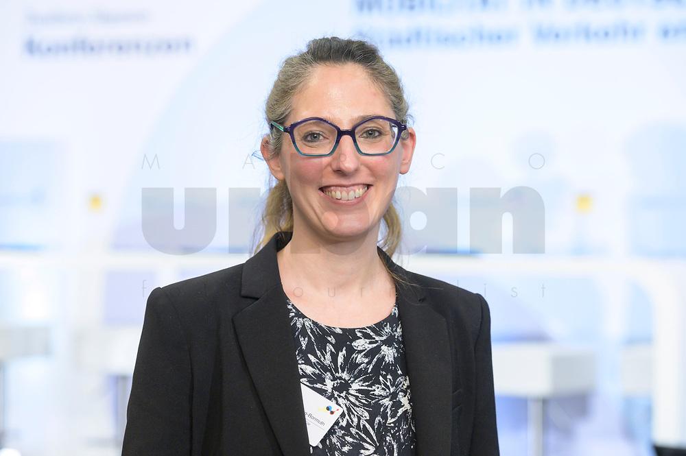 """18 FEB 2020, BERLIN/GERMANY:<br /> Dr. Chloe Voisin-Bermuth, Stadtentwicklerin, F.A.Z. Konferenz """"Mobilitaet in Deutschland - Staedtischer Verkehr erfindet sich neu"""", F.A.Z.-Atrium Berlin<br /> IMAGE: 20200218-01-203<br /> KEYWORDS: Frankfurter Allgemiene Zeitung, Mobilität, FAZ"""
