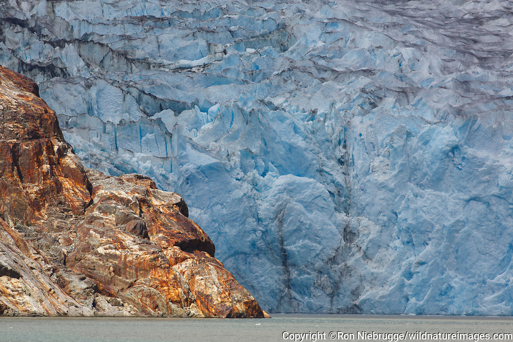 At the North Sawyer Glacier, Tracy Arm, Tongass National Forest, Alaska.