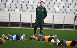 Cape Town-180618 New Springbok coach Rassie Erusmus at Cape Town Stadium where the national team had a training session.photograph:Phando Jikelo/African News Agency/ANA