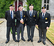 08/07/2018  repro  free: Ex-servicemen Charlie Kennedy, Mick Ward, Tony Keane and Martin Mannionof ONE  at  The National Day of Commemoration Ceremony at NUI Galway in honour of all those Irishmen and Irish Women who served in past wars or on Service with the UN.Photo:Andrew Downes, XPOSURE