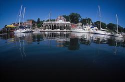 Harbor Fisheye, Castine, Maine, US
