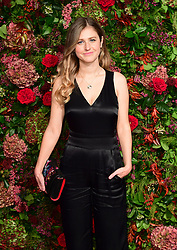 Ria Zmitrowicz attending the Evening Standard Theatre Awards 2018 at the Theatre Royal, Drury Lane in Covent Garden, London