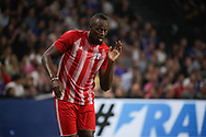 Usain Bolt (FIFA 98) during the 2018 Friendly Game football match between France 98 and FIFA 98 on June 12, 2018 at U Arena in Nanterre near Paris, France - Photo Stephane Allaman / ProSportsImages / DPPI