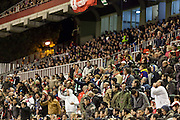 Rayo Vallecano fans  during the match