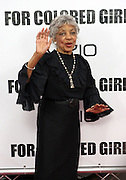 25 October 2010- New York, NY- Ruby Dee at Tyler Perry's World Premiere of the Film 'For Colored Girls ' an Adaptation of Ntozake Shange's play ' For Colored Girls Who Have Considered Suicide When the Rainbow Is Enuf.' held at the Zeigfeld Theater on October 25, 2010 in New York City.
