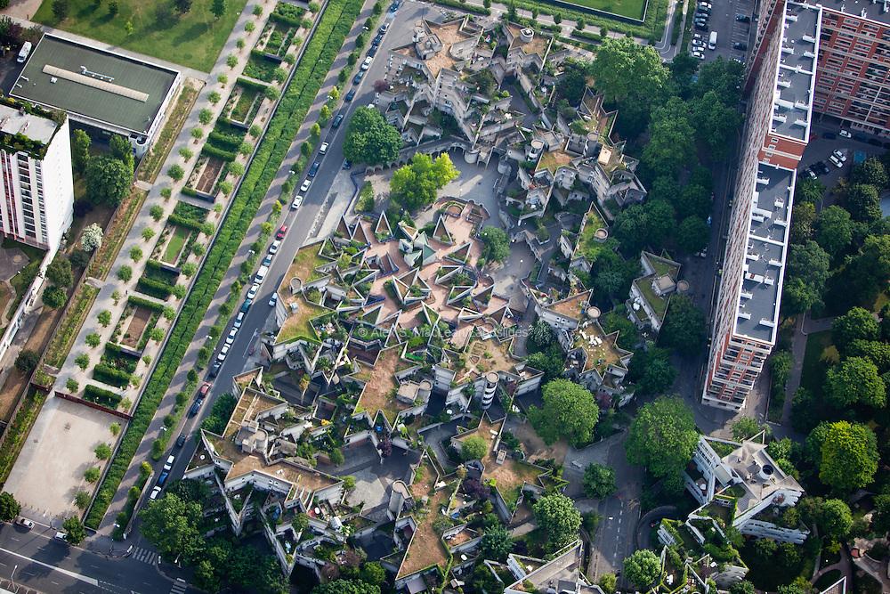 Ivry-sur-Seine, département du Val-de-Marne (94), centre-ville
