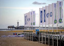 01-06-2012 VOLLEYBAL: EK BEACHVOLLEYBAL: SCHEVENINGEN<br /> De Pier vlakbij The Hague Beach Stadium, creatief, illustratief<br /> ©2012-FotoHoogendoorn.nl